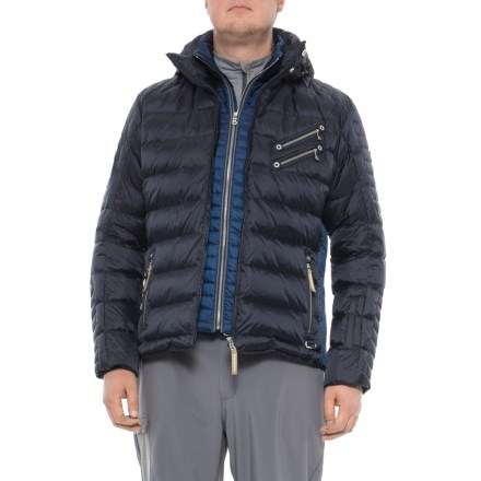 Bogner Steven Heavyweight Down Ski Jacket - Insulated (For Men) in Navy b087b0a5f
