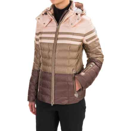 Bogner Tea-D Down Ski Jacket (For Women) in Beige/Brown - Closeouts