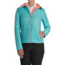 Bogner Teriza-D Down Jacket - Insulated (For Women) in Turquoise - Closeouts