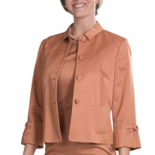 Bogner Tessy Blazer - 3/4 Sleeve (For Women) in Copper - Closeouts