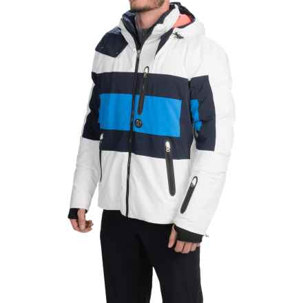 Bogner Tore-DT Ski Jacket - Waterproof, Insulated (For Men) in Off White - Closeouts
