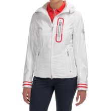 Bogner Ursa-T Golf Jacket - Hooded (For Women) in White - Closeouts