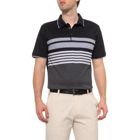 6cf21c5731c Bogner Victor Striped Polo Shirt - Short Sleeve (For Men) in Black