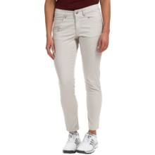 Bogner Vilma-G Golf Crop Pants - Slim Fit (For Women) in Light Grey - Closeouts