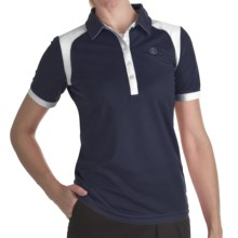Bogner Vivica Golf Polo Shirt - Short Sleeve (For Women) in Navy - Closeouts