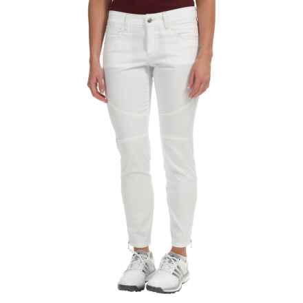 Bogner Yvon-G Crop Golf Pants - Slim Fit, Cotton Blend (For Women) in White - Closeouts