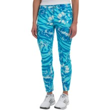 Bogner Yvon-G Crop Golf Pants - Slim Fit (For Women) in Turquoise - Closeouts