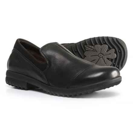 Bogs Footwear Alexandria Leather Shoes - Waterproof, Slip-Ons (For Women) in Black - Closeouts