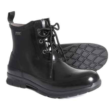 Bogs Footwear Amanda Chukka Rain Boots - Waterproof (For Women) in Black - Closeouts