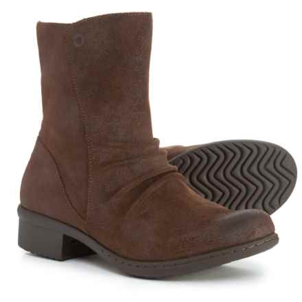 Bogs Footwear Auburn Mid Boots - Waterproof, Leather (For Women) in Dark Brown - Closeouts