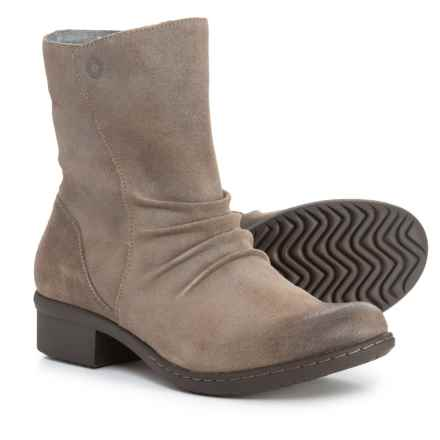 Bogs Footwear Auburn Mid Boots - Waterproof, Leather (For Women) in Taupe - Closeouts