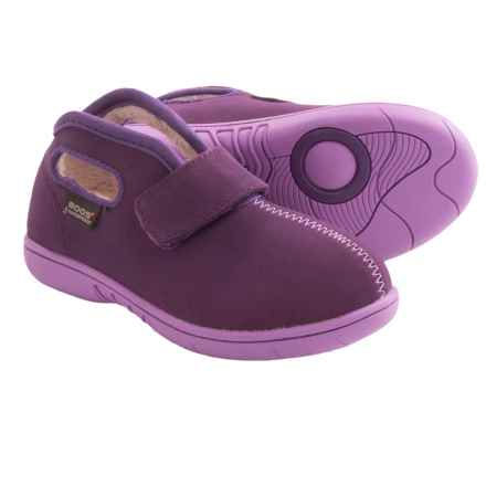 Bogs Footwear Baby Bogs Mid Nubuck Shoes - Waterproof (For Infants and Toddlers) in Purple - Closeouts