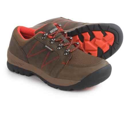 Bogs Footwear Bend Low Hiking Shoes - Waterproof (For Women) in Chocolate - Closeouts