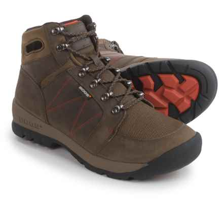 Bogs Footwear Bend Mid Hiking Boots - Waterproof (For Men) in Chocolate - Closeouts