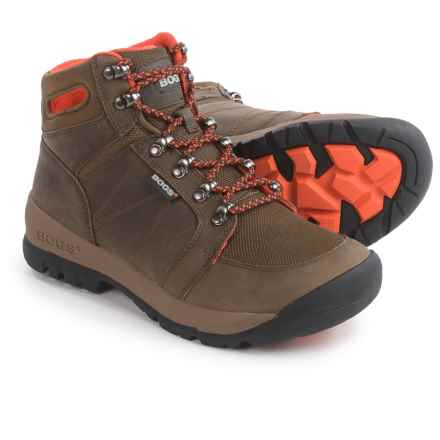 Bogs Footwear Bend Mid Hiking Boots - Waterproof (For Women) in Brown / Light Brown / White - Closeouts