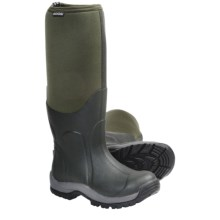 Bogs Footwear Blaze Hi Rubber Boots - Waterproof (For Youth) in Green - Closeouts