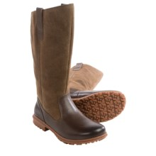 Bogs Footwear Bobby Tall Boots - Waterproof, Leather (For Women) in Cocoa - Closeouts
