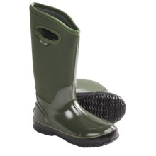 Bogs Footwear Classic High Solid Rain Boots - Waterproof (For Women) in Green - Closeouts