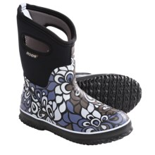 Bogs Footwear Classic Mid Vintage Rain Boots - Waterproof (For Women) in Black - Closeouts