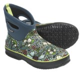 Bogs Footwear Classic Short May Flowers Rain Boots - Waterproof (For Women)