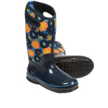 Bogs Footwear Classic Watercolor Tall Boots - Waterproof (For Women) in Blue Multi - Closeouts