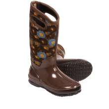 Bogs Footwear Classic Watercolor Tall Boots - Waterproof (For Women) in Brown Multi - Closeouts