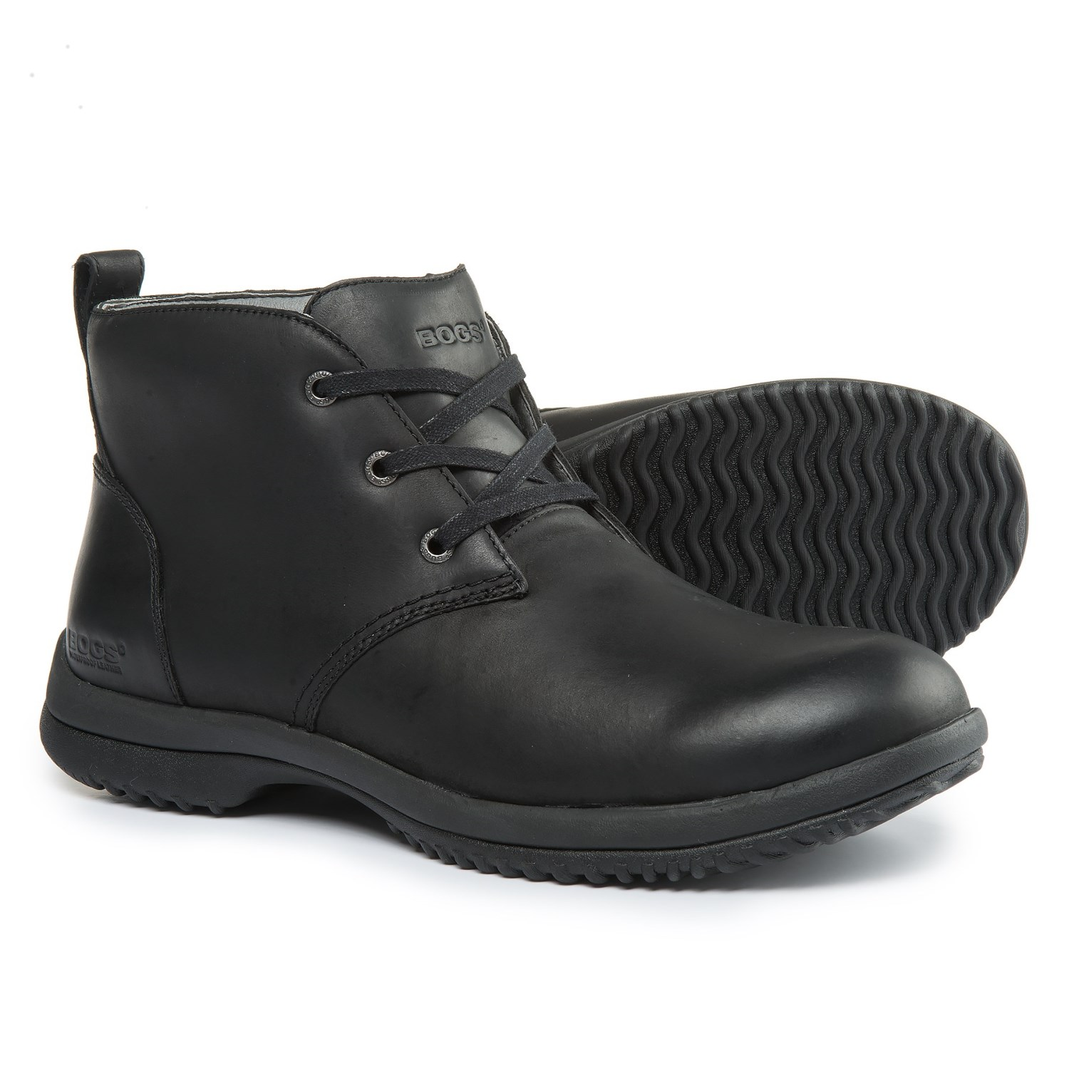Bogs Footwear Cruz Leather Chukka Boots  For Men