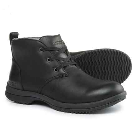Bogs Footwear Cruz Leather Chukka Boots - Waterproof (For Men) in Black - Closeouts