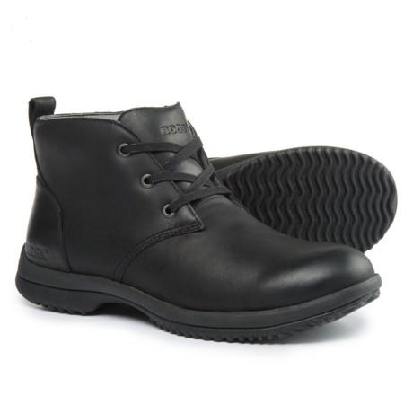 Bogs Footwear Cruz Leather Chukka Boots - Waterproof (For Men) in Black
