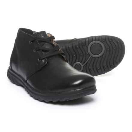Bogs Footwear Eugene Leather Chukka Boots - Waterproof (For Men) in Black - Closeouts