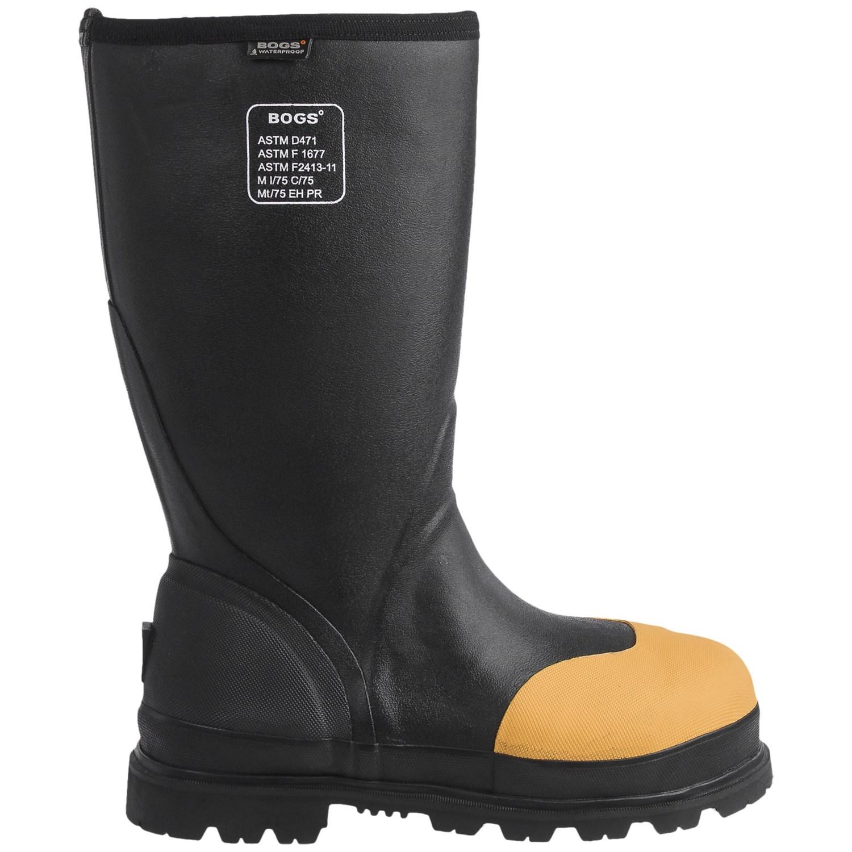 Bogs Footwear Forge STMG Lite Work Boots (For Men) - Save 79%