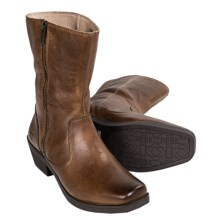 Bogs Footwear Gretchen  Boots - Leather (For Women) in Cognac - Closeouts