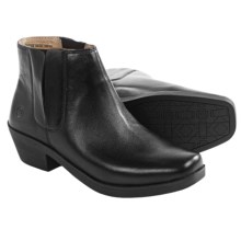 Bogs Footwear Gretchen Chelsea Boots - Waterproof, Leather (For Women) in Black - Closeouts