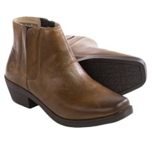 Bogs Footwear Gretchen Chelsea Boots - Waterproof, Leather (For Women) in Cognac - Closeouts