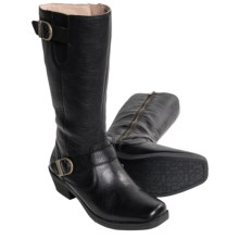 Bogs Footwear Gretchen Tall Boots - Waterproof Leather (For Women) in Black - Closeouts