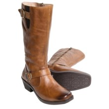 Bogs Footwear Gretchen Tall Boots - Waterproof Leather (For Women) in Cognac - Closeouts