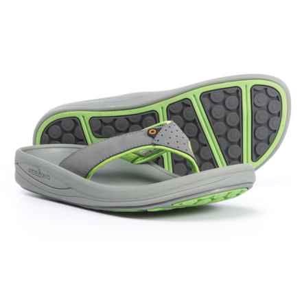 Bogs Footwear Helix Flip-Flops (For Women) in Light Gray Multi - Closeouts