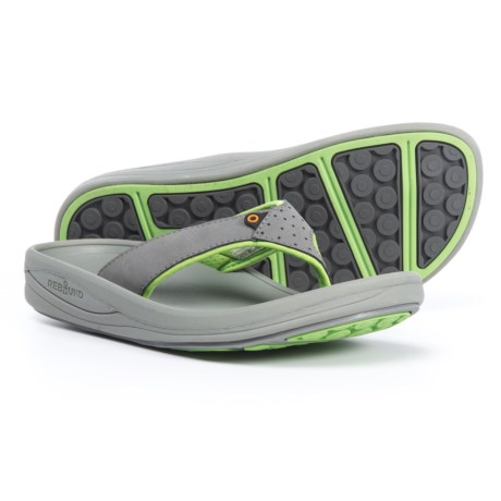 Bogs Footwear Helix Flip-Flops (For Women) in Light Gray Multi