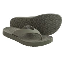 Bogs Footwear Hudson Rubber Flip-Flops (For Men) in Cargo - Closeouts