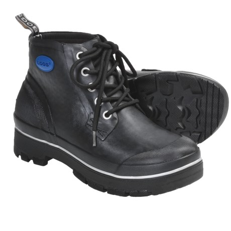 Bogs Footwear Industrial Rubber Chukka Boots - Waterproof (For Men) in Black