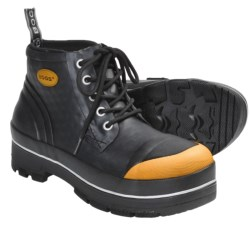 Bogs Footwear Industrial Rubber Chukka Boots - Waterproof, Steel Toe (For Men) in Black