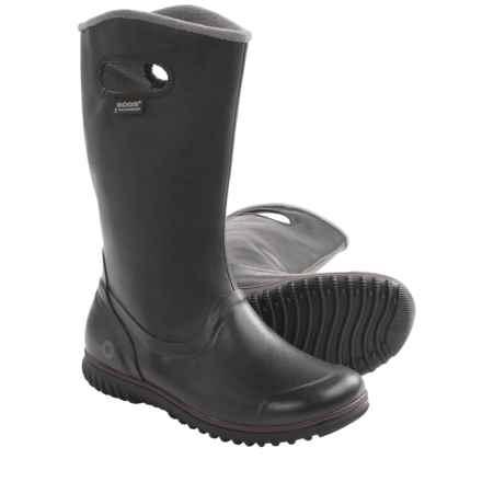 Bogs Footwear Juno Tall Boots - Waterproof (For Women) in Black - Closeouts