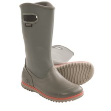 Bogs Footwear Juno Tall Boots - Waterproof (For Women) in Charcoal - Closeouts