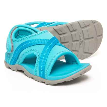 Bogs Footwear Keegan Sport Sandals (For Boys) in Light Blue Multi - Closeouts