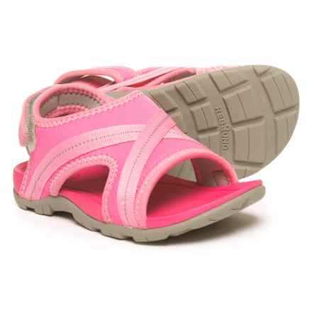 Bogs Footwear Keegan Sport Sandals (For Girls) in Pink Multi - Closeouts