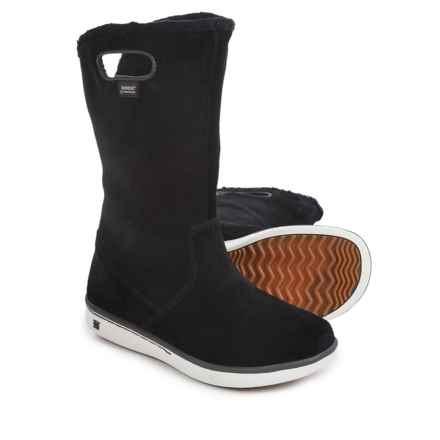 Bogs Footwear Kids Boga Boots - Waterproof (For Big Kids) in Black - Closeouts