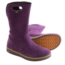 Bogs Footwear Kids Boga Boots - Waterproof (For Little and Big Kids) in Purple - Closeouts