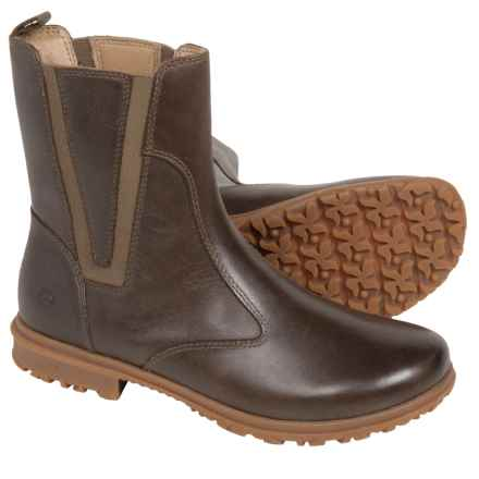 Bogs Footwear Pearl Boots - Waterproof Leather (For Women) in Chocolate - Closeouts