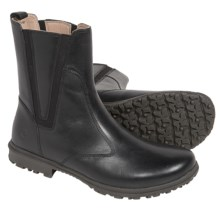 Bogs Footwear Pearl Boots - Waterproof Leather (For Women) in Ebony - Closeouts