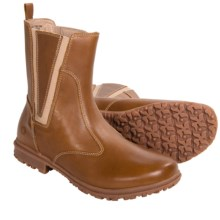 Bogs Footwear Pearl Boots - Waterproof Leather (For Women) in Tan - Closeouts